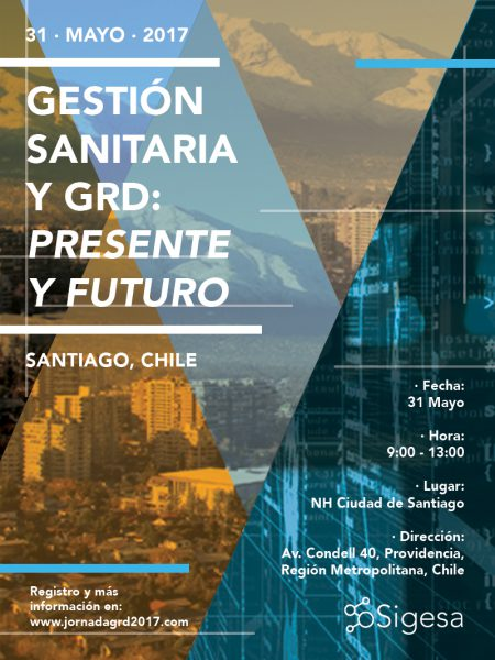 Event Poster: 'Healthcare Management & DRG: present and future'