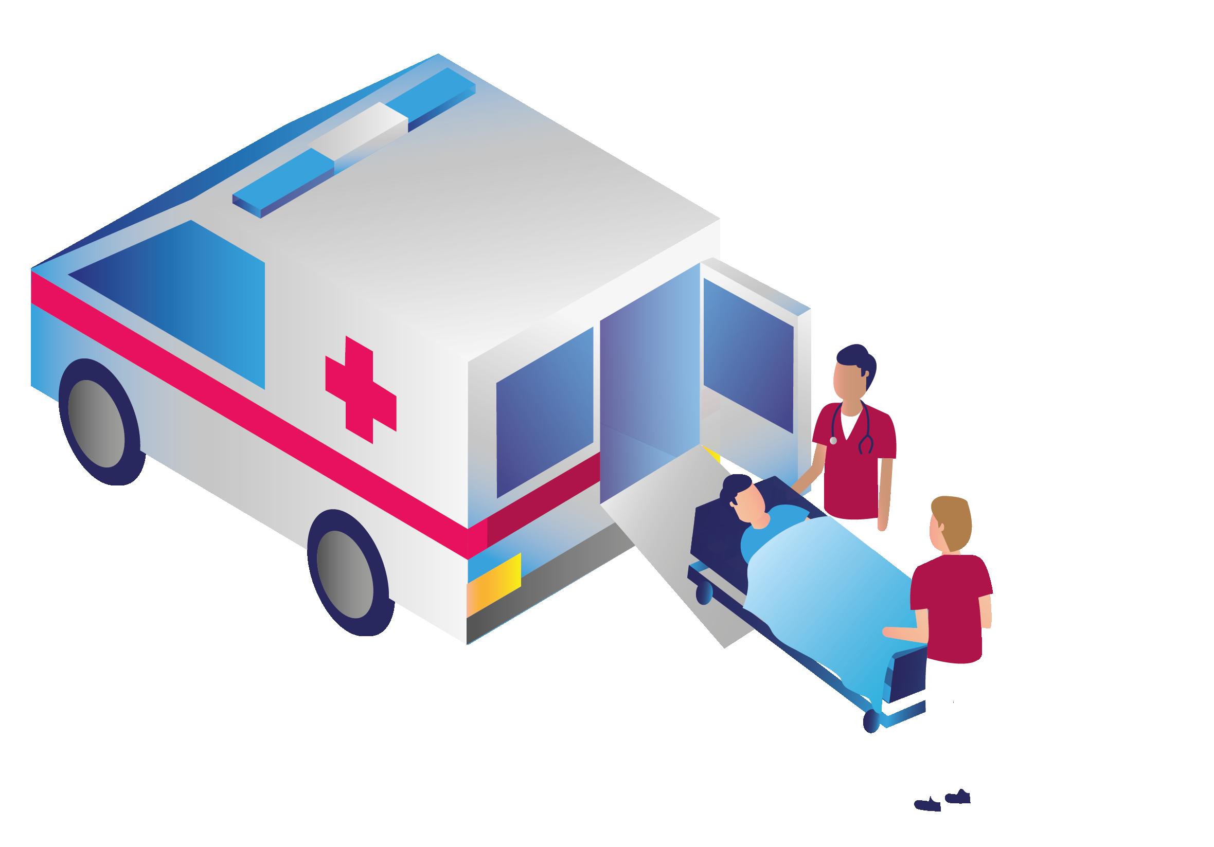 ambulancia abierta