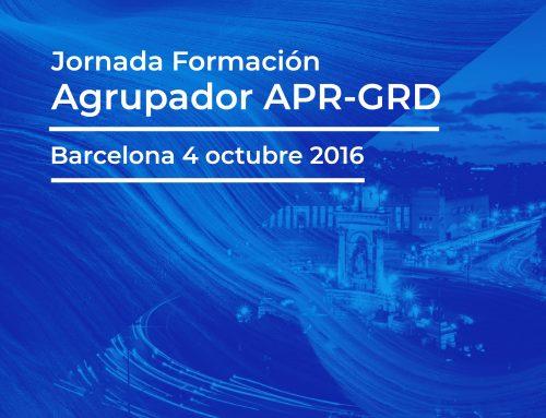 Jornada Formación Agrupador APR-GRD