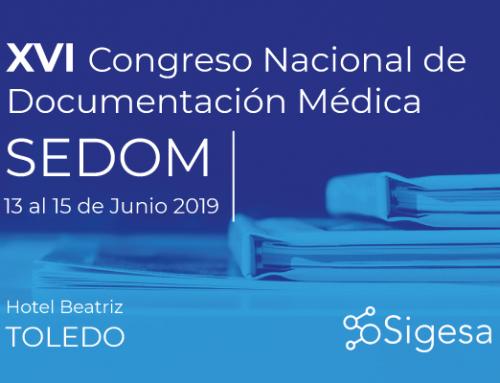 XVI Congreso Nacional de Documentación Médica – SEDOM