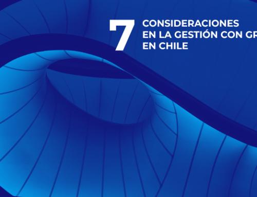 7 CONSIDERACIONES EN LA GESTIÓN CON GRD EN CHILE