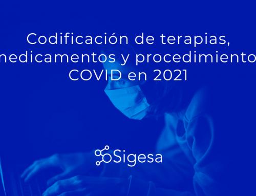 Terapias, medicamentos y procedimientos COVID en 2021