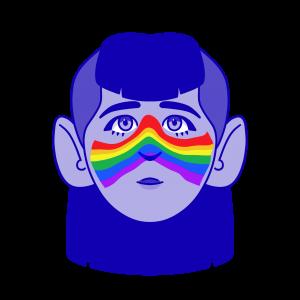 Chica gay inclusión
