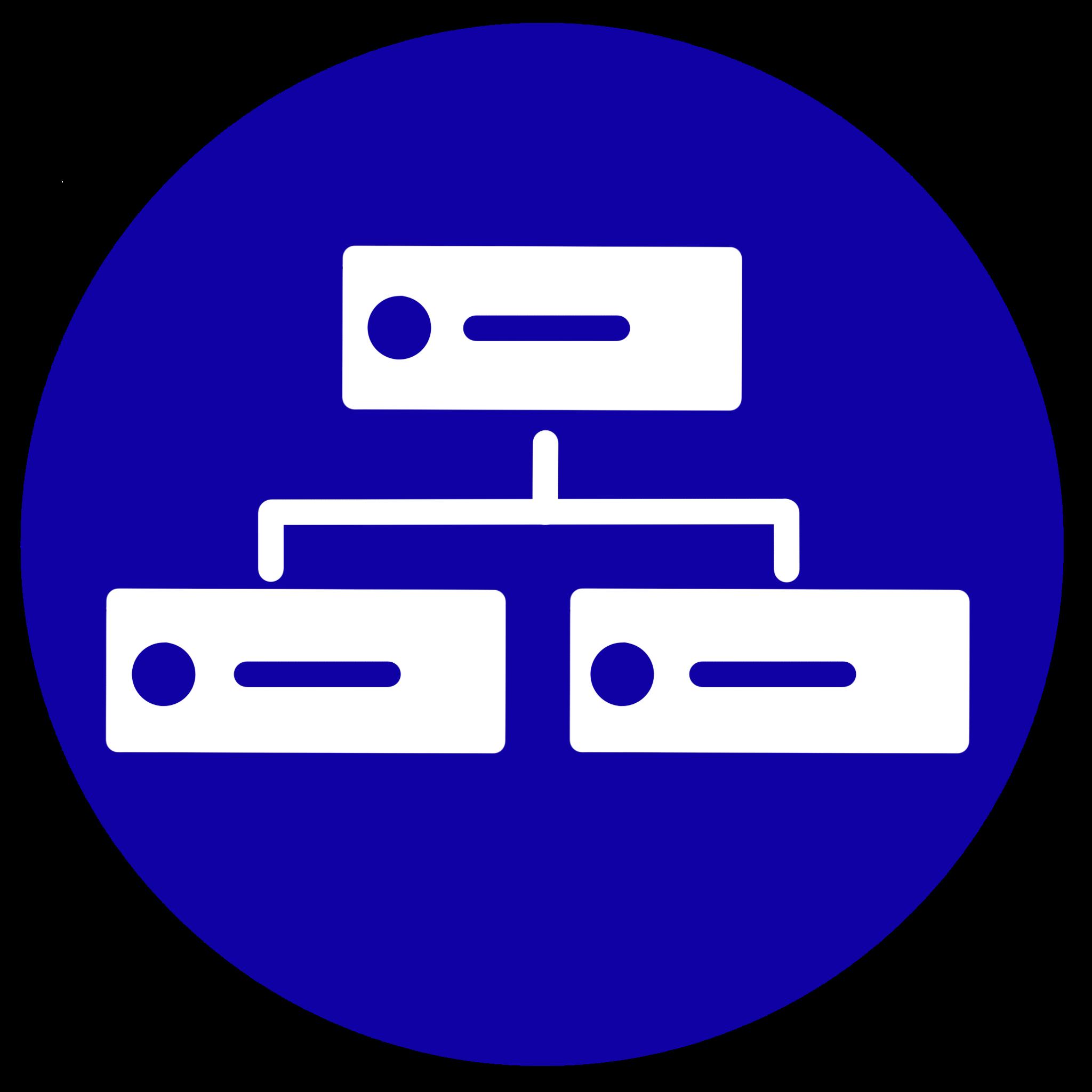 Icono que representa el almacenamiento de datos