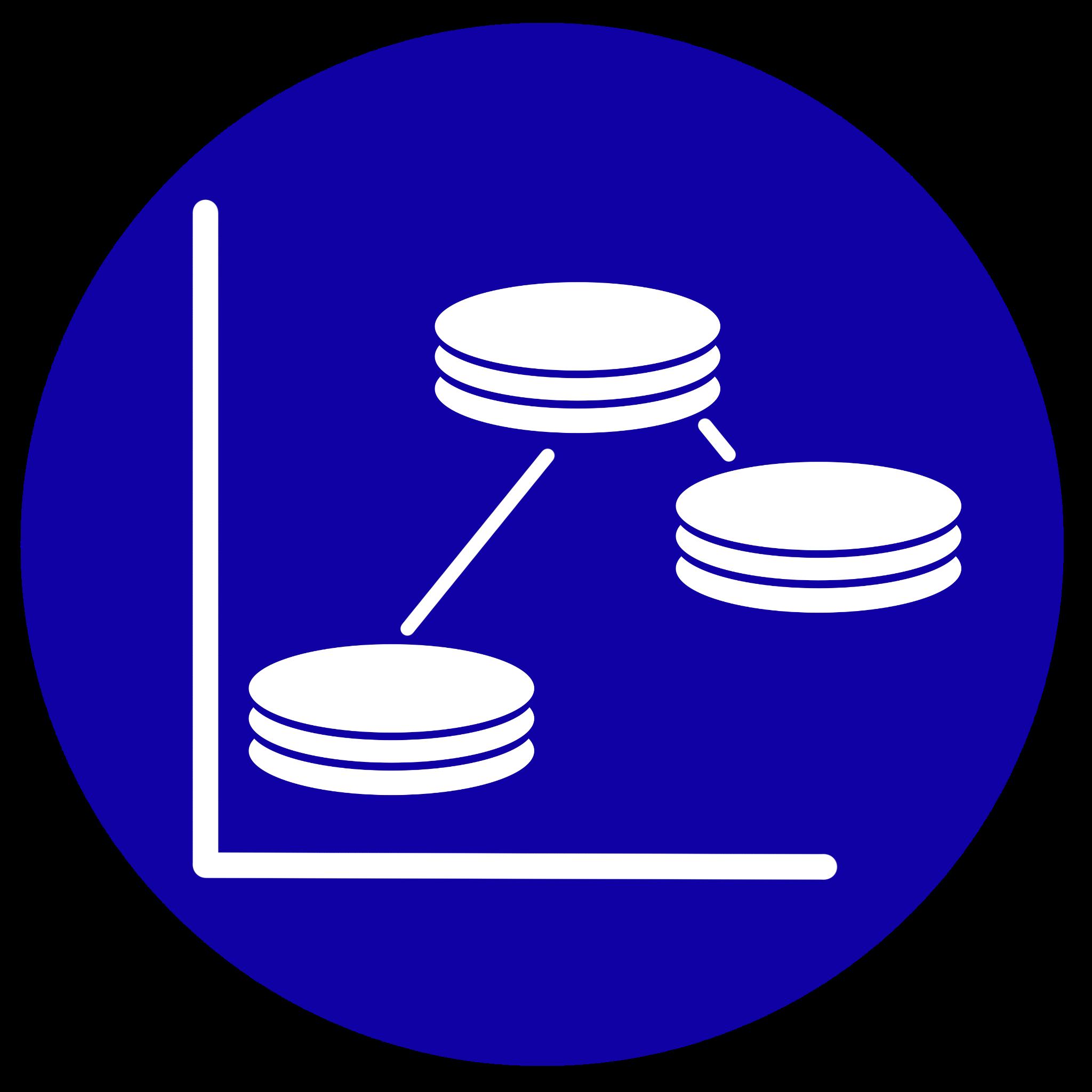 Icono que representa la distribución del coste personal